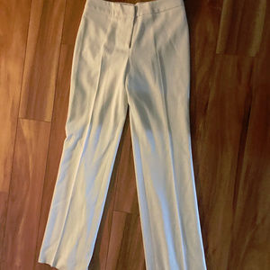 Alberto Makali White Dress Pants